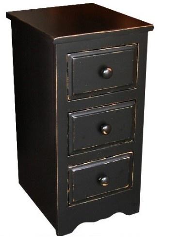 Canadian Woodcraft  - Riverside 3-drawer Night Table, $345.00 (http://www.canadianwoodcraft.ca/bedroom/riverside-3-drawer-night-table/)