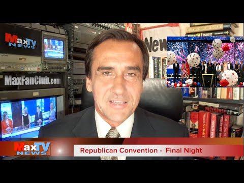 GOP Convention Finale - Finał Konwencji Republikanów - Max Kolonko MaxTV...