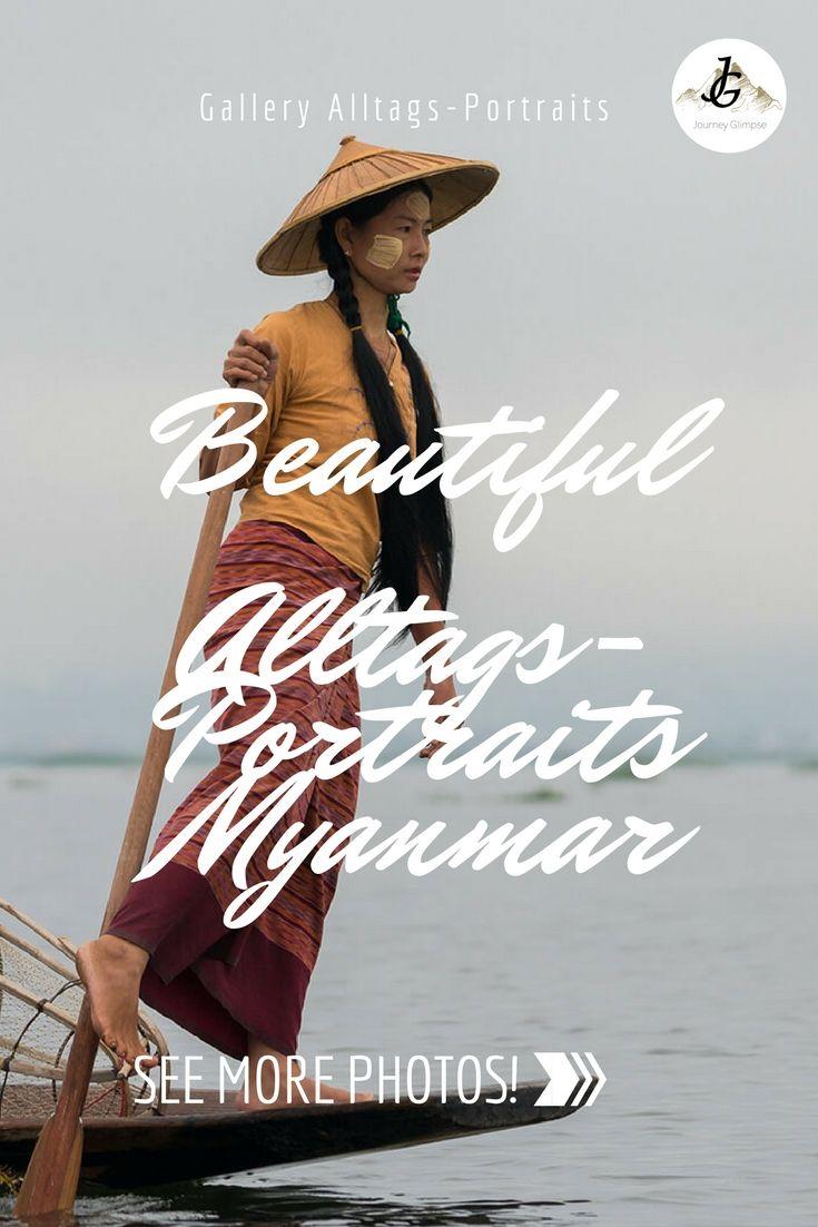 Was Myanmar besonders speziell macht, sind die Menschen. Wir haben sie in ihrem Alltag fotografisch portraitiert.