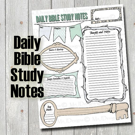Bible Study Guides (Executable Outlines)