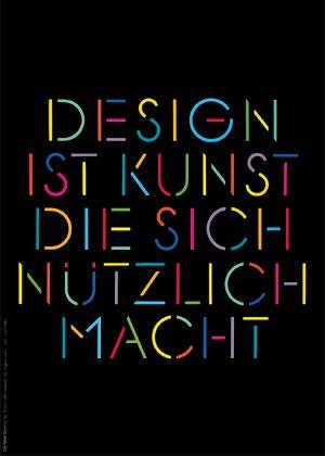mendell/oberer: plakat: design ist kunst, die sich nützlich macht, 1984 (http://www.die-neue-sammlung.de/z/muenchen/faq/m-o_de.htm)