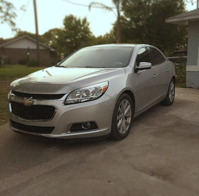 2014 Chevy Malibu looks good even when she parked in my driveway! #ChevyRunsDeep