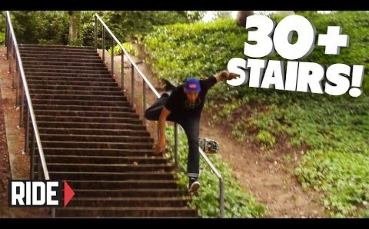 30+ STAIRS! Skateboarding Slam – David Loy | Wild Boys TV