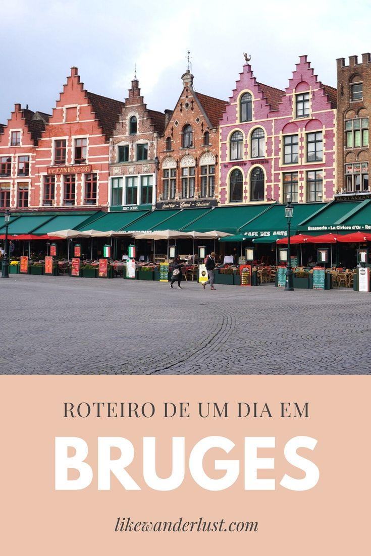 Conheça a linda cidade medieval com esse roteiro de um dia em Bruges. Para aqueles como eu, que se apaixonarem que quiserem mais, há extras também. Aproveite!