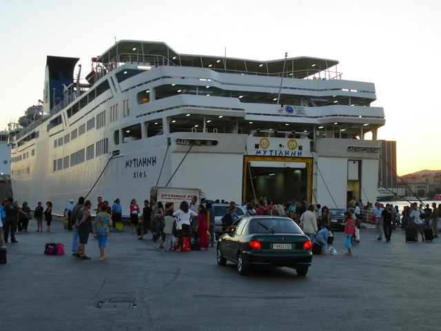 Greek Island Ferries