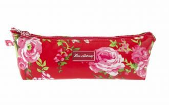 Pencil Case - China Rose Red
