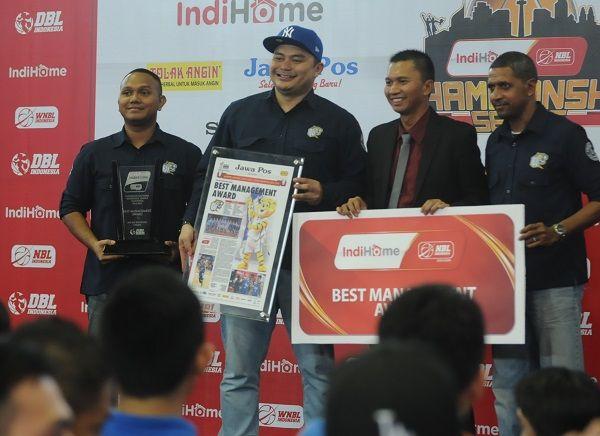 NBL Best Management Award season 2014-2015