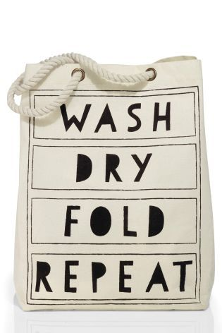 Buy Words Laundry Bag from the Next UK online shop