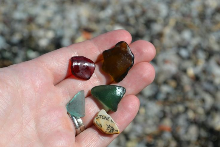 Seaglass from the Sidney beach