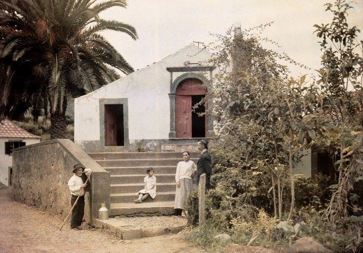 Capela do Livramento, São Vicente. Wilhelm Tobien, 1934