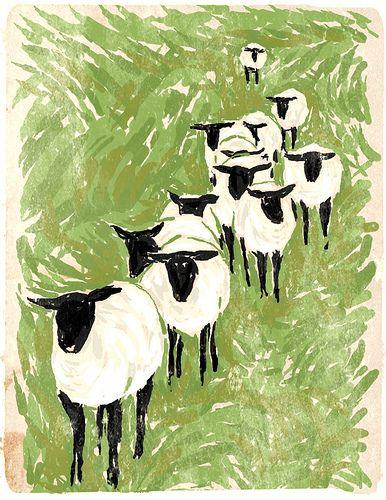 a flock of dream sheep - finngr pro