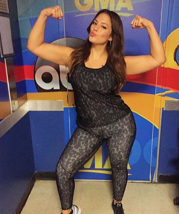 Ashley Graham's Intense Workout Routine Is Totally Inspiring  from InStyle.com