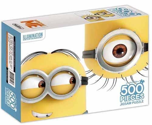 Despicable Me Minions Characters 500 pieces Toy Jigsaw Puzzles Grazing #DespicableMe