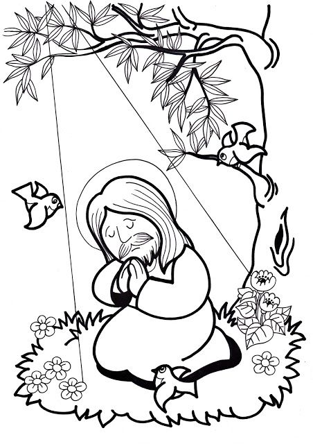 coloring pages for ccd - photo#8