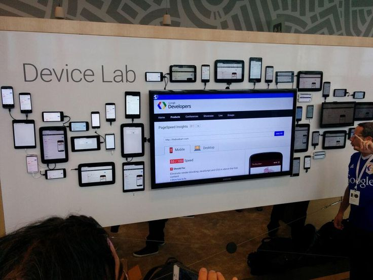 Google I/O Device Lab
