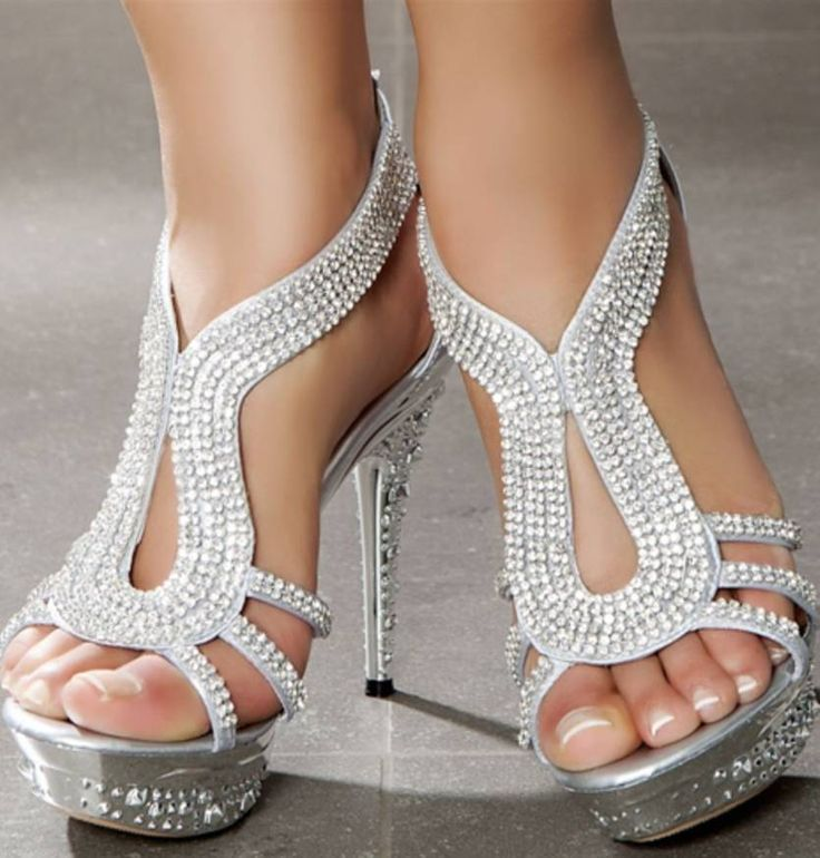 1000  ideas about Prom Shoes Silver on Pinterest | Silver high ...