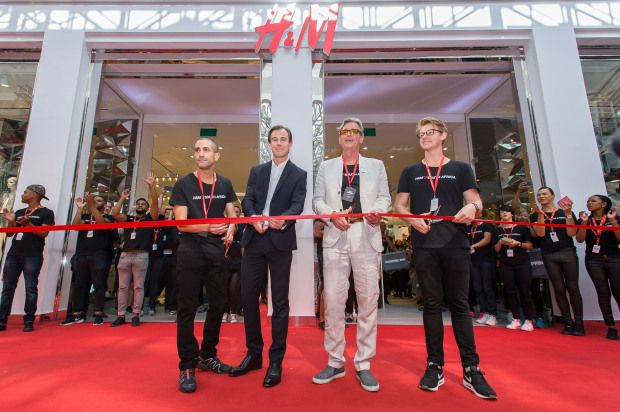 H&M Opens First South African Store | El Broide