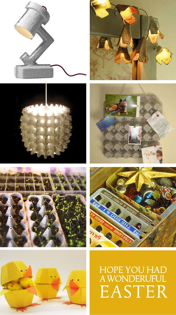 44 best DIY repurpose the egg curton images on Pinterest Egg boxes