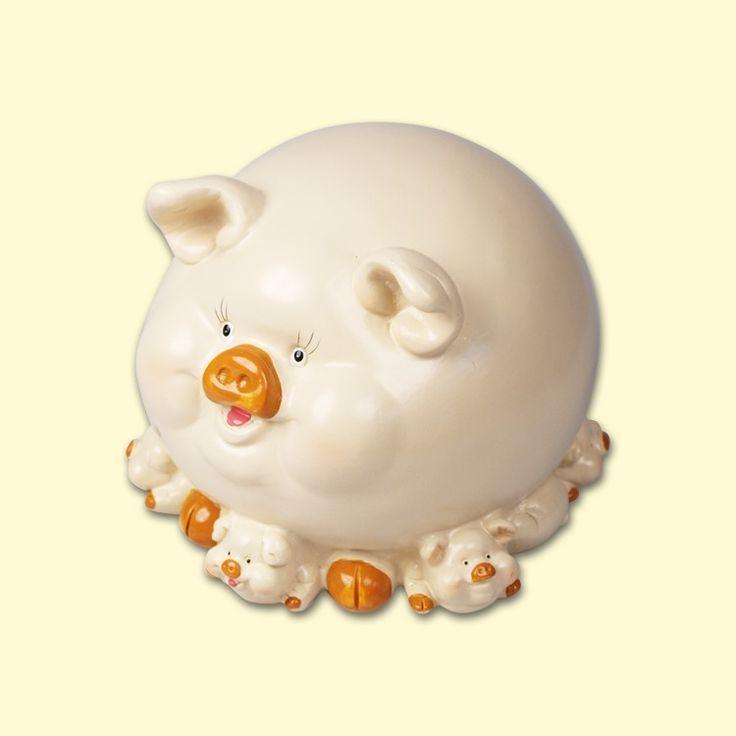 "SHOP-PARADISE.COM:  Spardose ""Schwein"", Höhe - 12 cm, (P2004) 5,87 €"