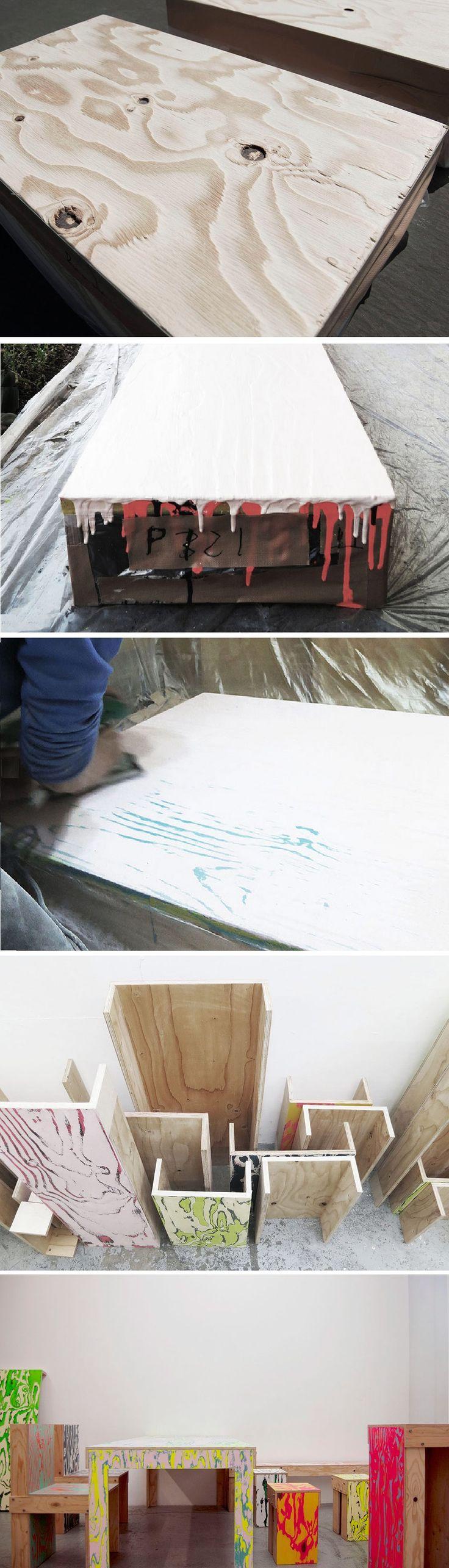 udukuri process - schemata architects / jo nagasaka: ColoRing furniture series