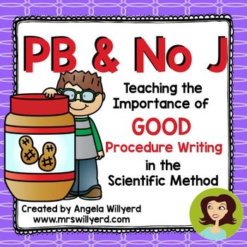 how to write a good procedure for science