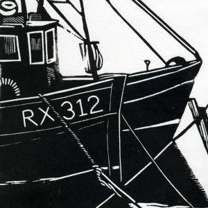 Fish Market Rye | Linocut | Lino Print