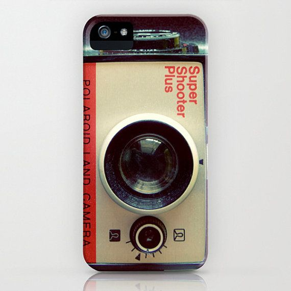 polaroid camera for iphone vintage polaroid land iphone 5c 5s 4 4s samsung galaxy s4 9815