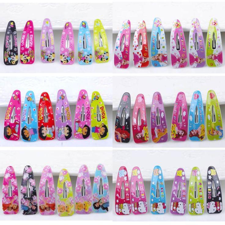 Bb haarspeldjes kitty clip kinderen Haar accessoire accessoires groothandel Haar Meisje Kids Satijn Haarspeld Haar Decoraties 36 stks/partij