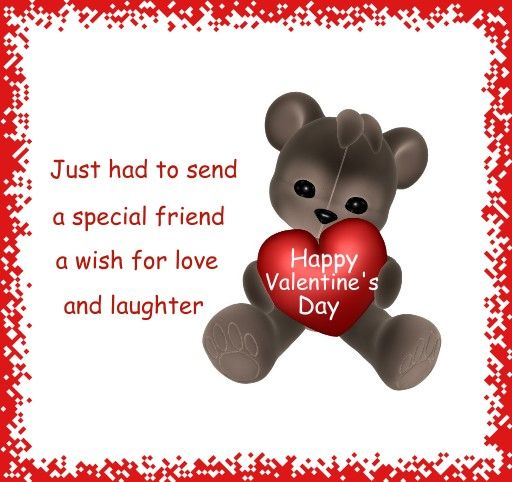 25 best ideas about Valentines day sayings – Teddy Bear Valentines Day Card