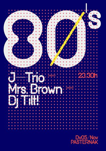 80 poster by quim marin