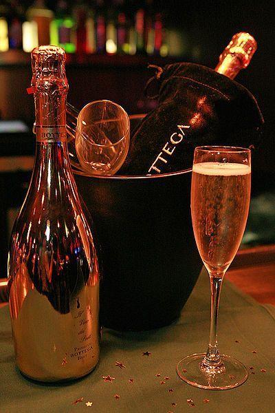 Prosecco...my favorite bubbly.