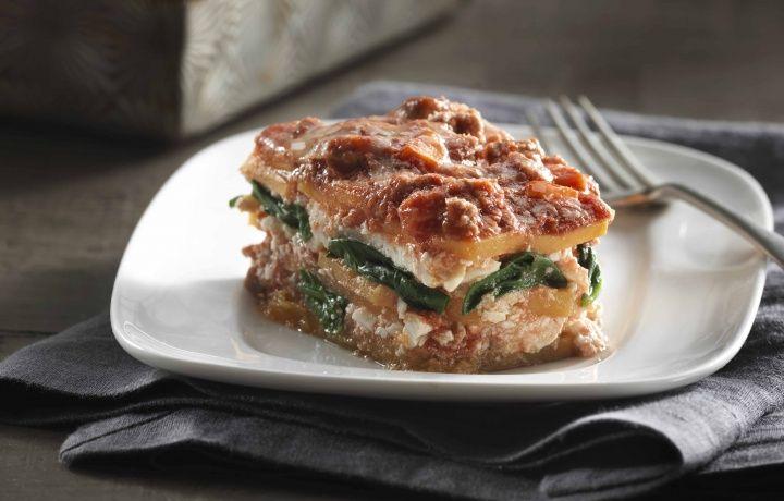Butternut Squash Lasagna with Turkey Ragu   Weight Watchers Canada
