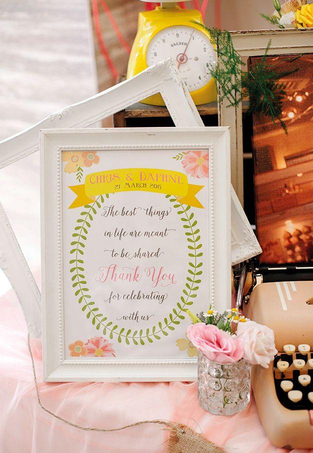 easy diy rustic wedding favors%0A Ideas for a pretty pastel  rustic wedding at The Halia Singapore Botanic  Gardens