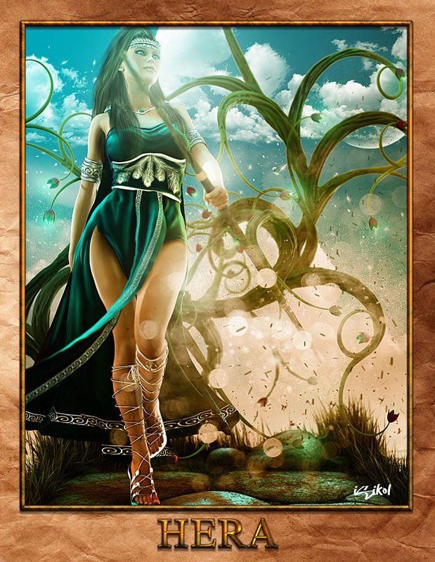 ... Juno) - Greek Goddess - Queen of the Gods.   Greek Mythology Pantheon.