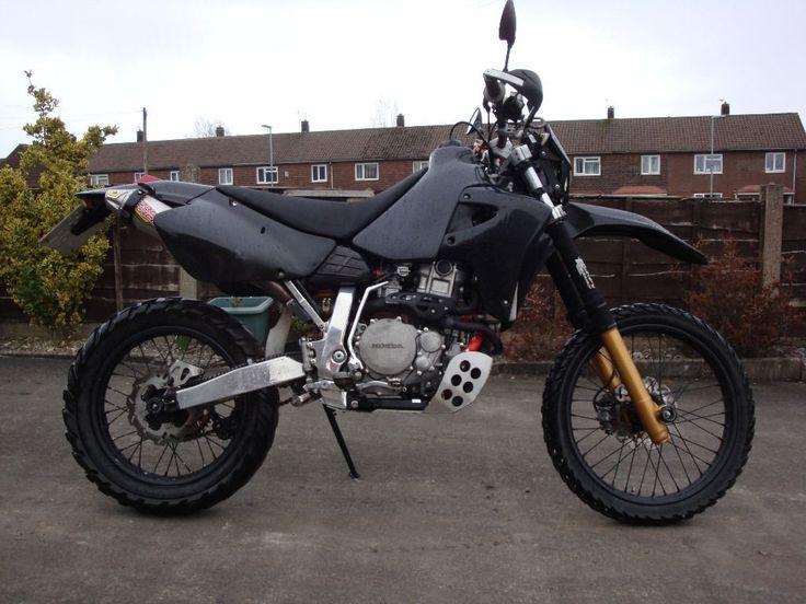 XR650R Black Motorcycle, Dual sport motorcycle