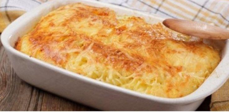 Te presentamos una exquisita receta, fideos gratinados, para que disfrutes a la hora de la cena.