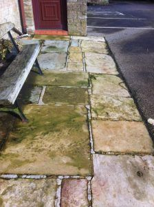 28 best images about for the home on pinterest patio for Best way to clean concrete sidewalk
