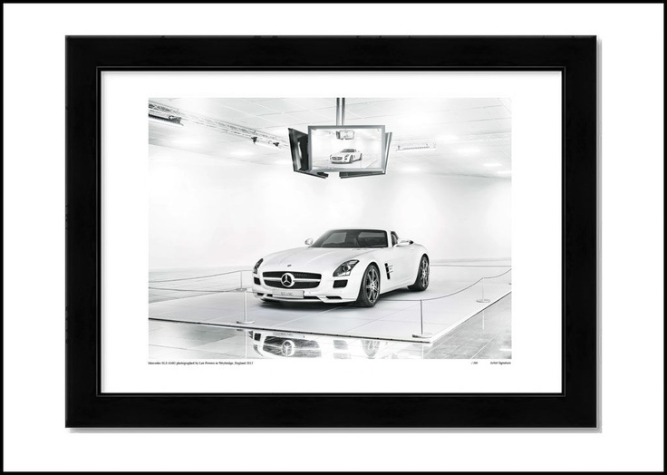 MERCEDES SLS AMG, limited edition prints. http://shop.leepowers.com/collections/automotive/products/mercedes-sls-amg