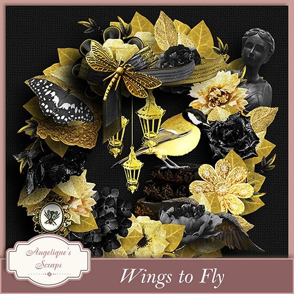 Wings to Fly mini-kit by Angelique's Scraps  Available @  http://www.pixelsandartdesign.com/store/index.php?main_page=index&cPath=128_223