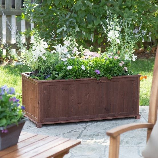 17 Best Ideas About Cedar Planter Box On Pinterest