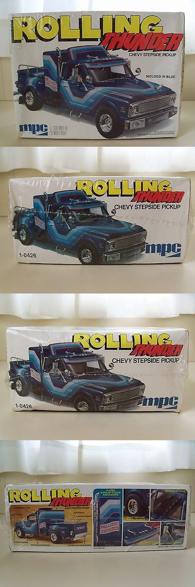Classic 2581: Vintage Mpc - Rolling Thunder - Chevy Stepside Pickup Truck - Model Kit (Sealed) -> BUY IT NOW ONLY: $99.95 on eBay!