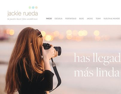"""Check out new work on my @Behance portfolio: """"Jackie Rueda Photography. Website design"""" http://be.net/gallery/44914953/Jackie-Rueda-Photography-Website-design"""