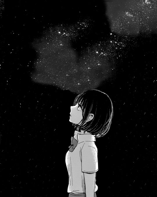 When i look at the stars, I remember my dark fate...it's beutiful