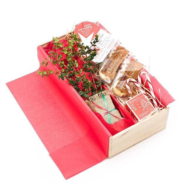 NZ Client Gifts  - a tree to grow for years and a little something to enjoy right now.  Boxed gifts can be branded with your company logo / message.