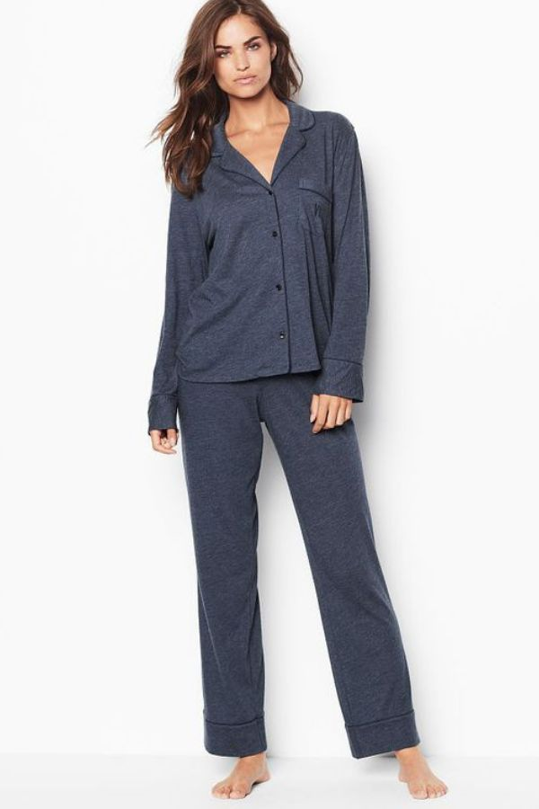 23b7fa24c8 Check out the colors and sizes available in this borrowed-from-him Victoria  Secret sleepover knit lady s pajama set.  ad  victoriassecret  sleepwear