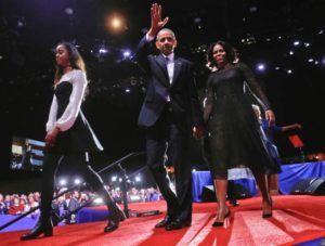 El Discurso De Despedida De Obama Fue Tan Emocional Que Su Hija Mayor No Pudo Contener Las Lágrimas http://blgs.co/0XI-sX