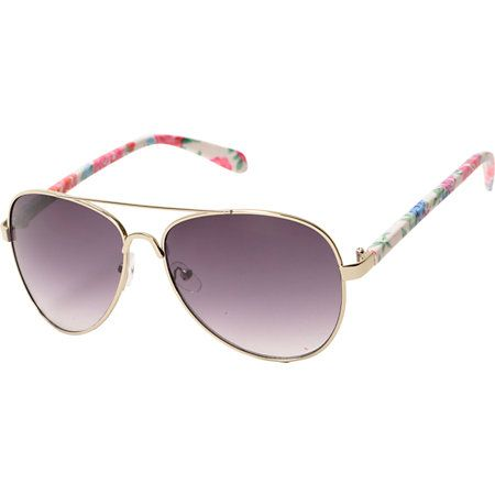 Truth Sunglasses in Wine Red with Floral Design deaGm5M