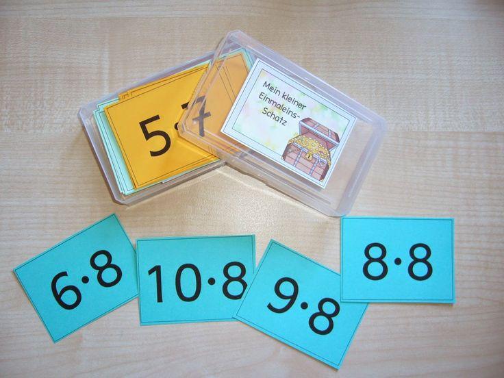 Mathe in der Grundschule: Kleiner Einmaleins-Schatz