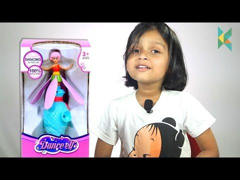 Flutterbye Fairy Dance Elf And Flying Doll kids toy unboxing and review…