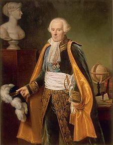 Pierre-Simon, marquis de Laplace (1745-1827) - Guérin.jpg an influential French scholar whose work was important to the development of mathematics, statistics, physics and astronomy. He summarized and extended the work of his predecessors in his five-volume Mécanique Céleste (Celestial Mechanics) (1799–1825)